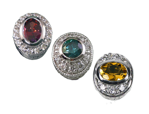 Oval Halo Collection