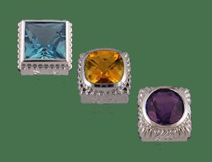 Square Gemstones