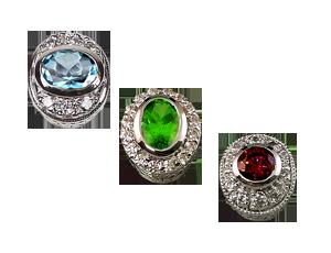Oval Diamond & Color